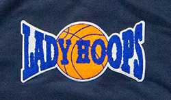 Lady Hoops Embroidered